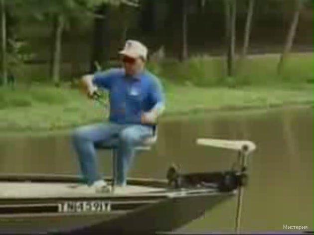 видео горе рыбак
