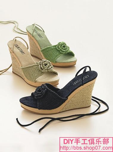 Обувь макраме своими руками