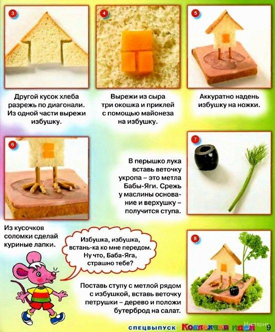 Как сделать бутерброд детям - Kvartiraivanovo.ru