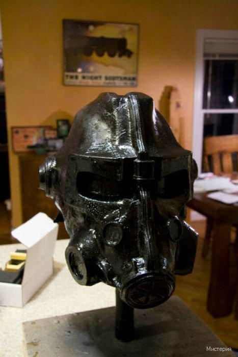 Мистерия Версия для печати Шлем из игры Fallout 3 своими руками