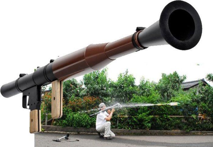Как из трубы сделать базуку