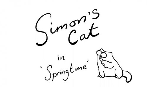 Simon's Cat in 'Springtime'