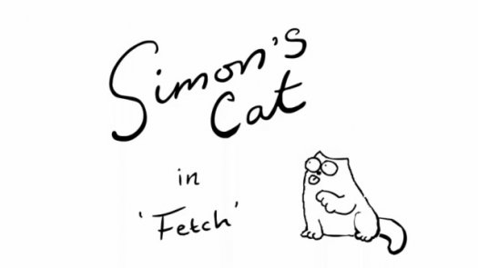 Simon's Cat in 'Fetch'