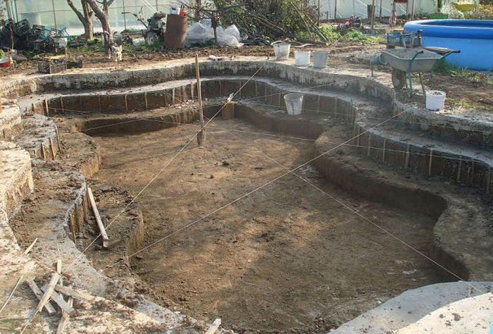 Как сделать бассейн самому на даче
