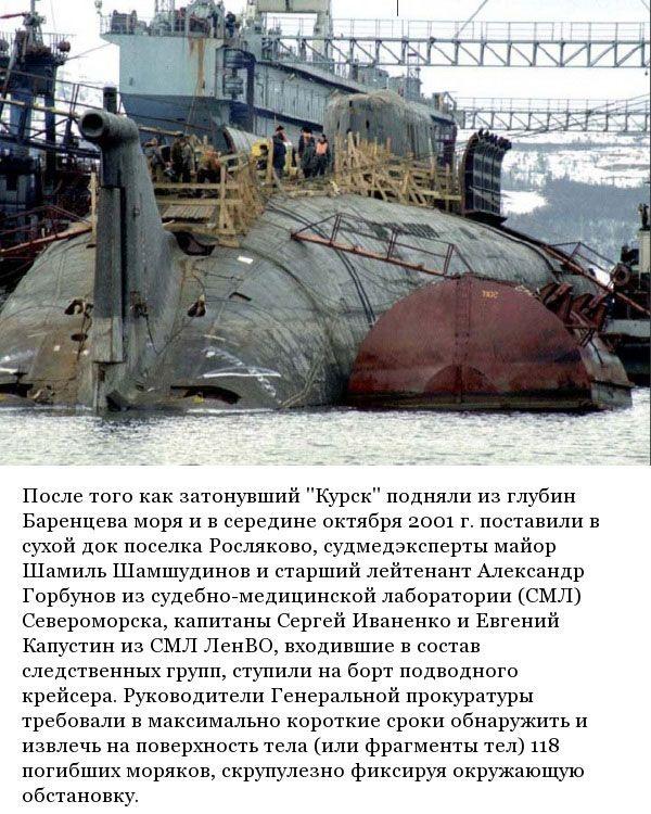 Подводная лодка курск что на самом деле произошло