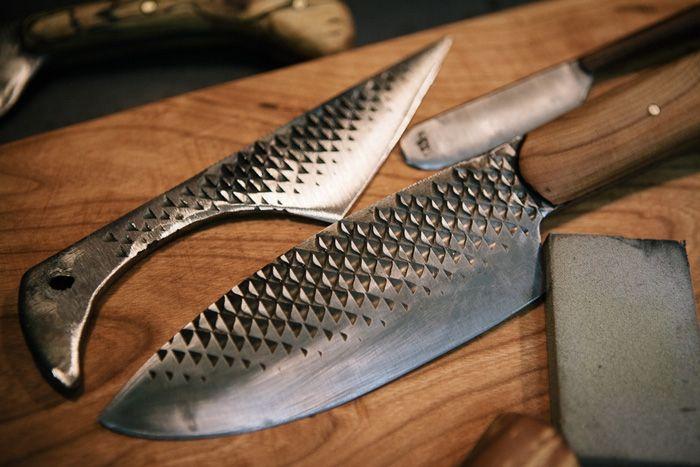 Из чего выковать нож своими руками