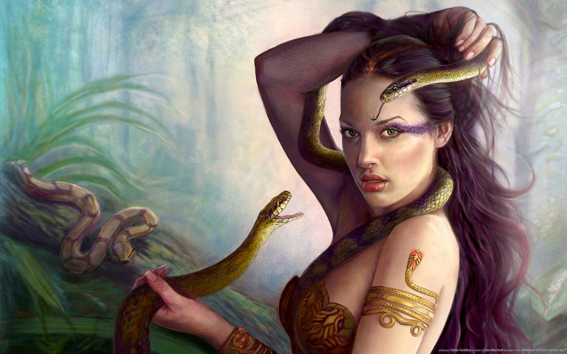 Смотреть женщин со змеями 22 фотография