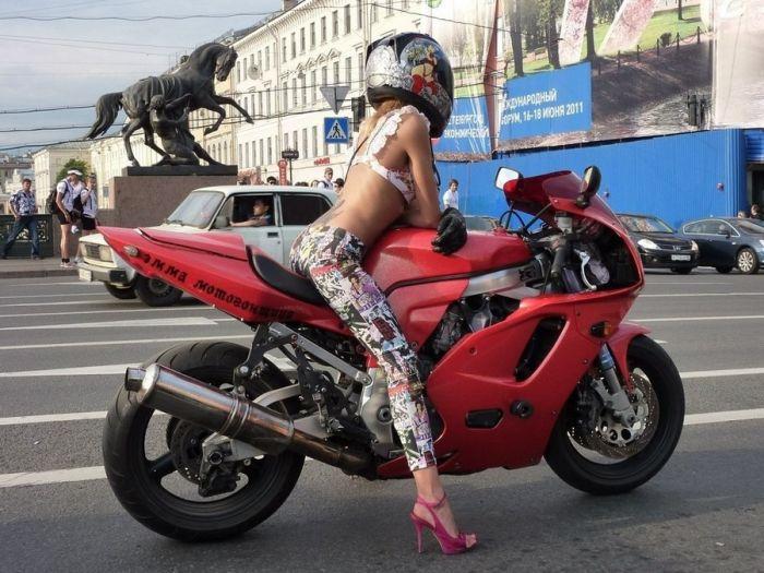 Любительское фото мотоциклов
