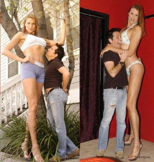 Высокие Девушки Порно